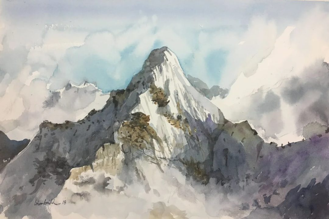 Горы: 100 рисунков карандашом и не только