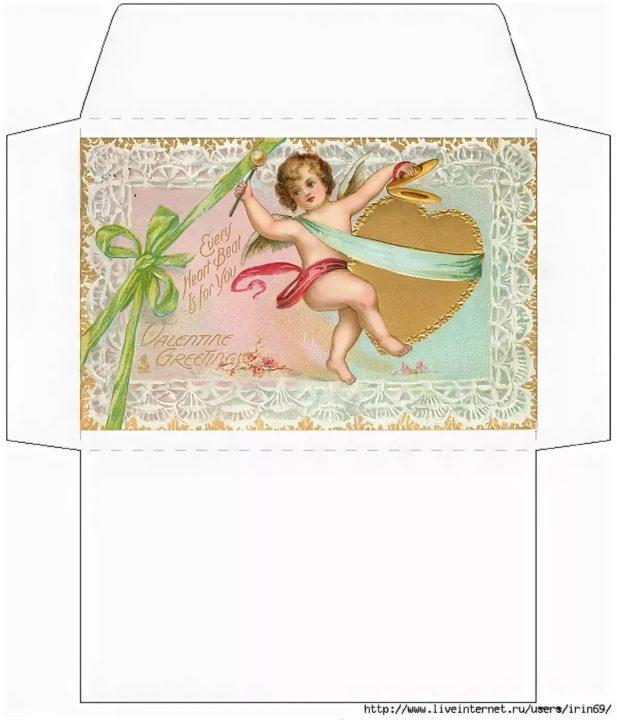 160 шаблонов конвертов для денег для распечатки на принтере
